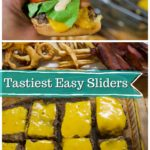 These juicy sliders are incredibly easy to make, and so tasty! We love to make these and top them with our favorite toppings for a delicious burger night at home!