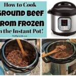 No need to worry about thawing your ground beef for recipes when it's so easy to cook frozen ground beef in the Instant Pot!