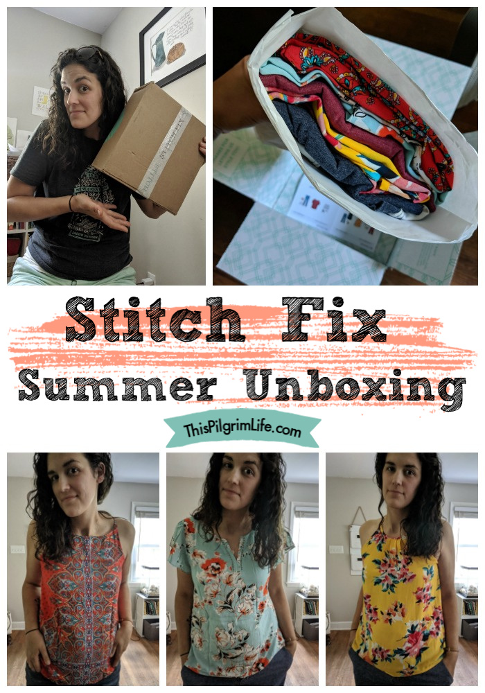 Stitch Fix Summer Unboxing!