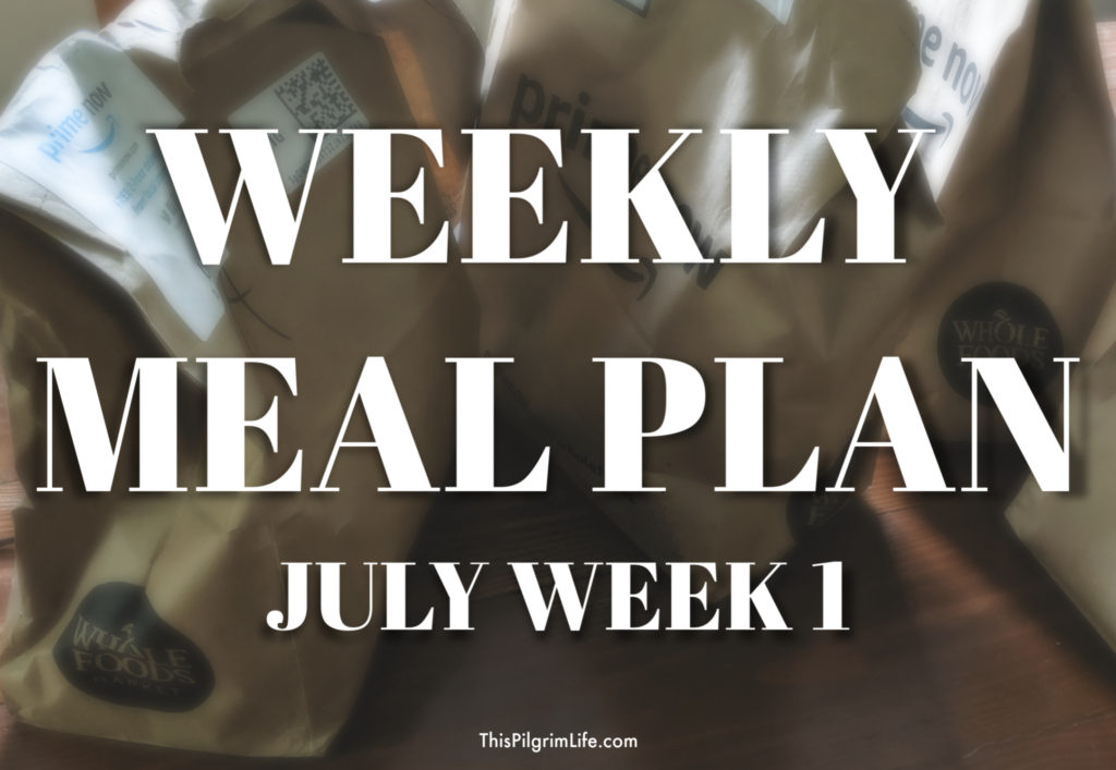 A weekly meal plan saves so much money, time, and energy! Get some inspiration and ideas from my meal plan for this week-- breakfasts, lunches, and dinners!