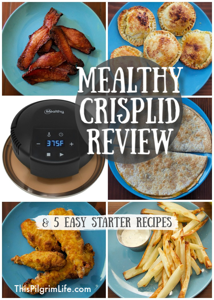Mealthy CrispLid Review & Starter Recipes