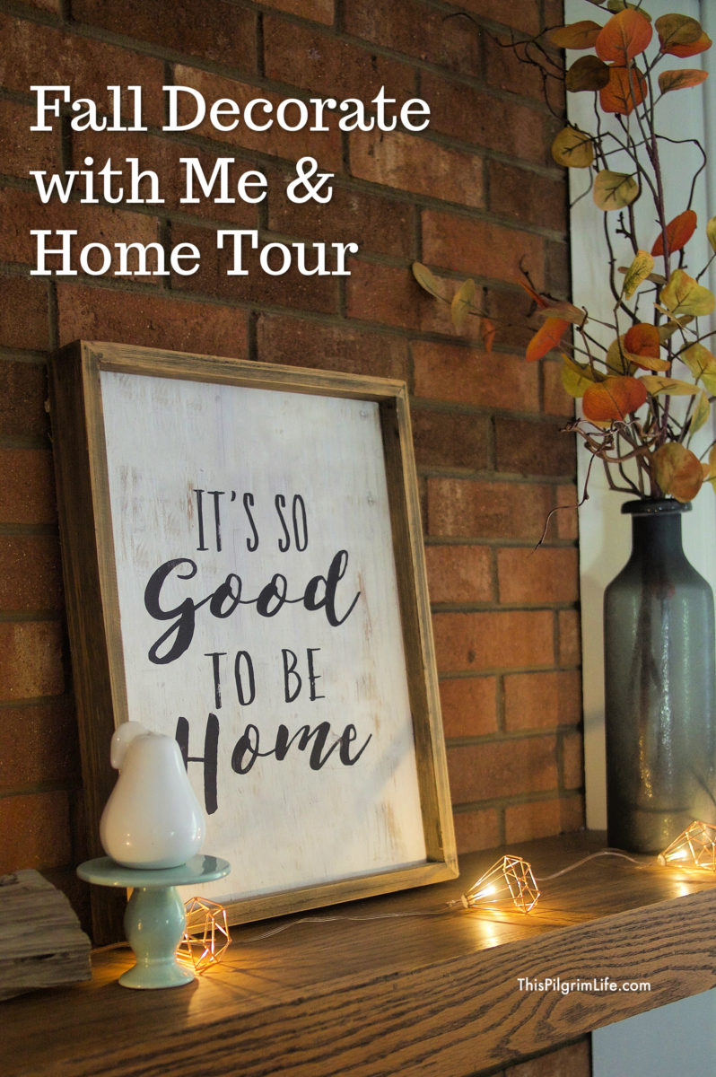 Fall Decorate with Me || Fall Home Tour