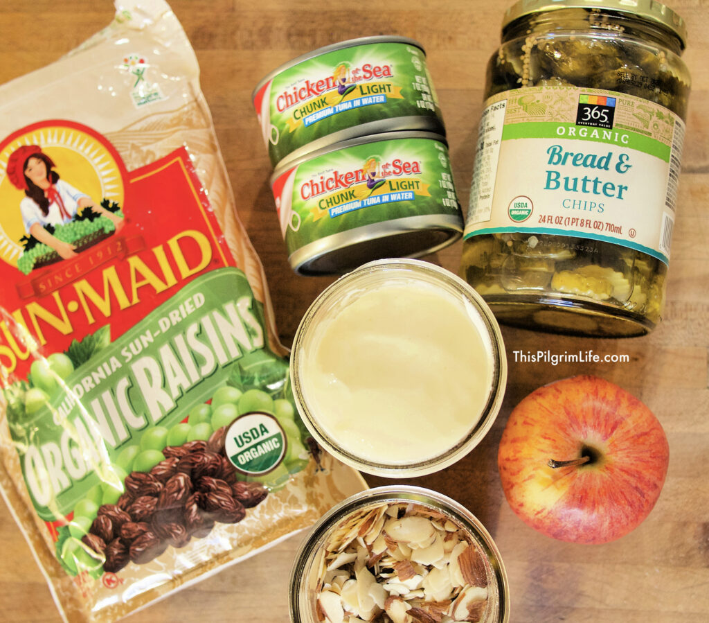 Our favorite easy tuna salad ingredients