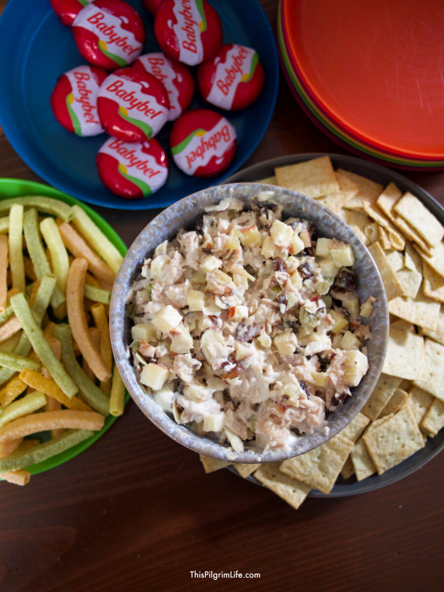 We love making this easy tuna salad for quick and healthy lunches! It's so simple to throw together and a favorite of the whole family!