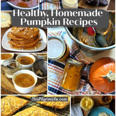 8 Healthy, Homemade Pumpkin Recipes