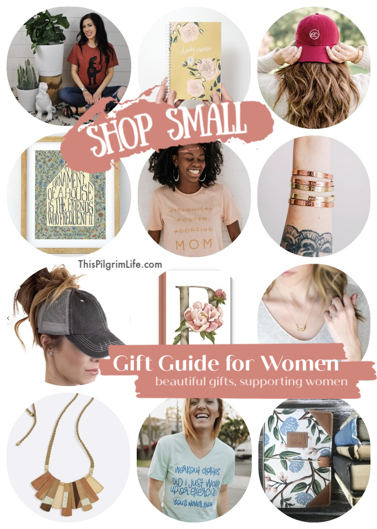 Find beautiful gifts for the women in your life, handmade and created with care from these amazing small shops! Shop jewelry, apparel, art prints, books, and more.