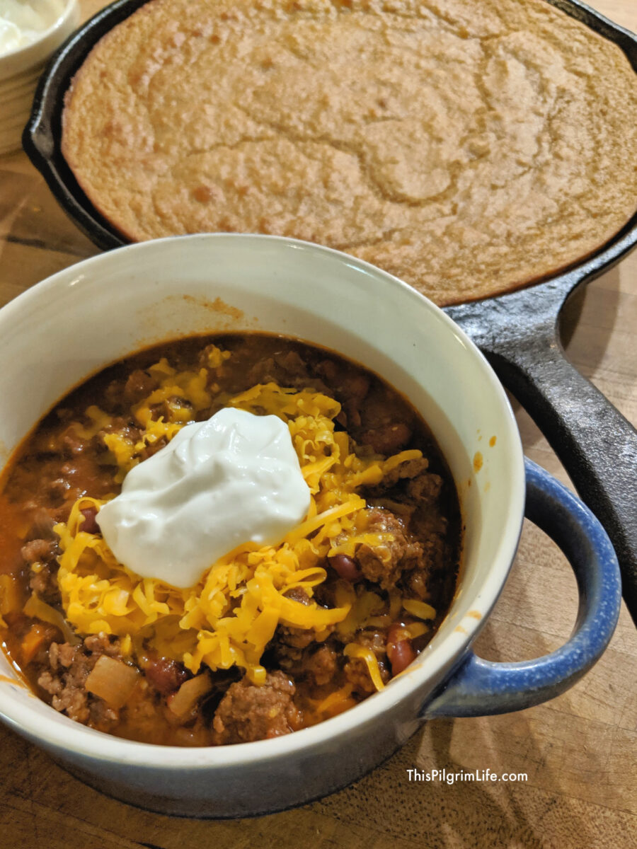 Make a delicious, hearty pot of chili in 45 minutes or less! This Instant Pot chili is perfect for chilly fall and winter days, and thanks to the Instant Pot, it's easy enough for weeknights too. Just don't forget the cornbread!