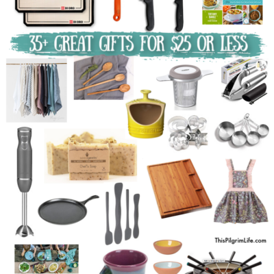 30 Kitchen Gift Ideas for $25 or Less