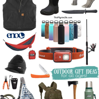 Mega List of Outdoor Gifts for All Ages