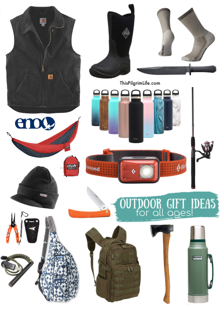 We put together our family's favorite gear for enjoying our time outdoors together into this mega list of outdoor gifts ideas for all ages!