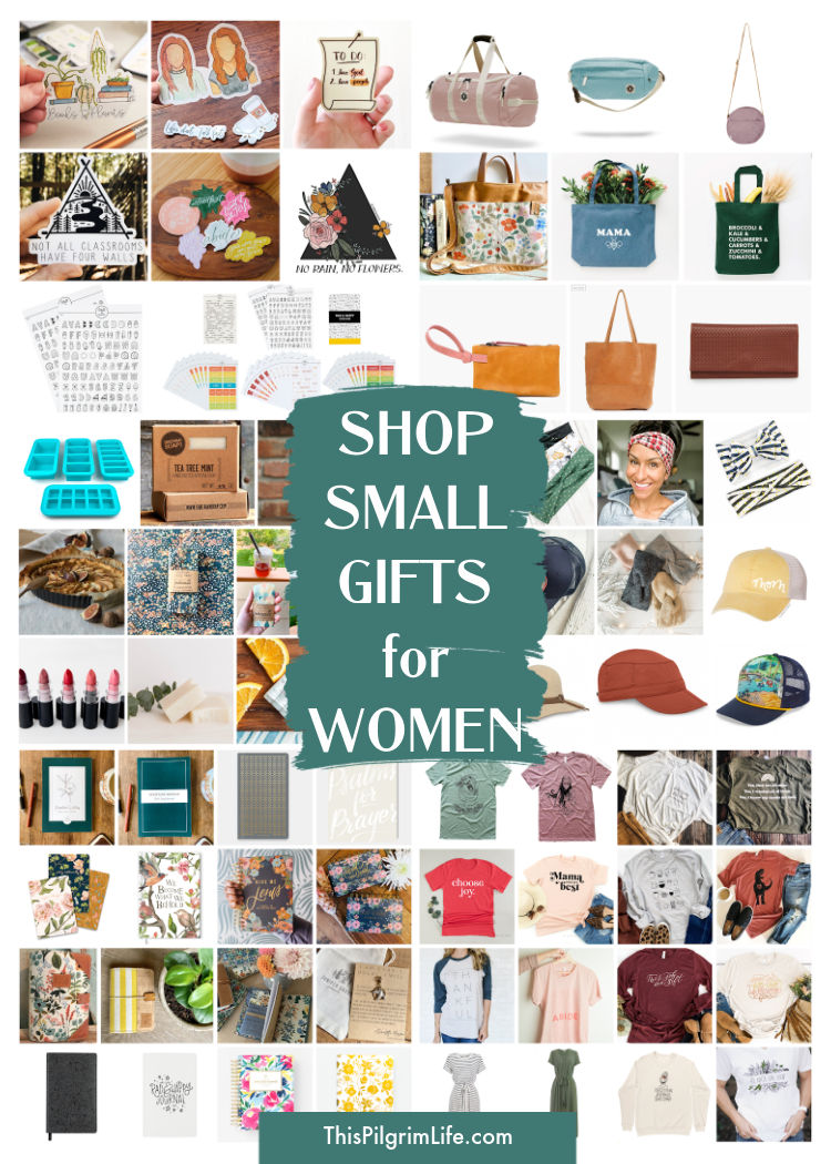 Find beautiful gifts for the women in your life, handmade and created with care from these amazing small shops! Shop smallgifts for jewelry, apparel, art prints, books, and more.