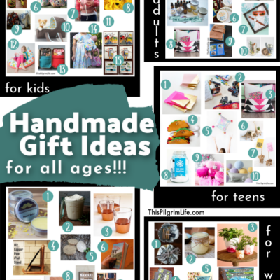 Homemade Gift Guide || Easy Handmade Gift Ideas for All Ages