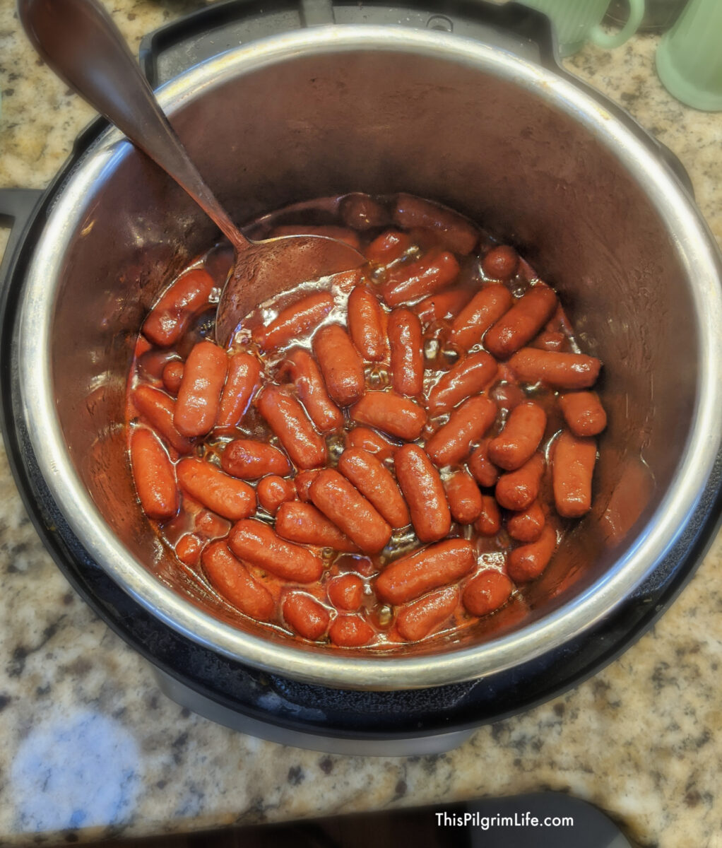 Instant Pot 'Lil Smokies in Homemade
