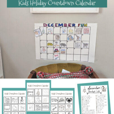 December Bucket List & Kids' Holiday Calendar