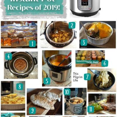 Most Popular Instant Pot Recipes of 2019
