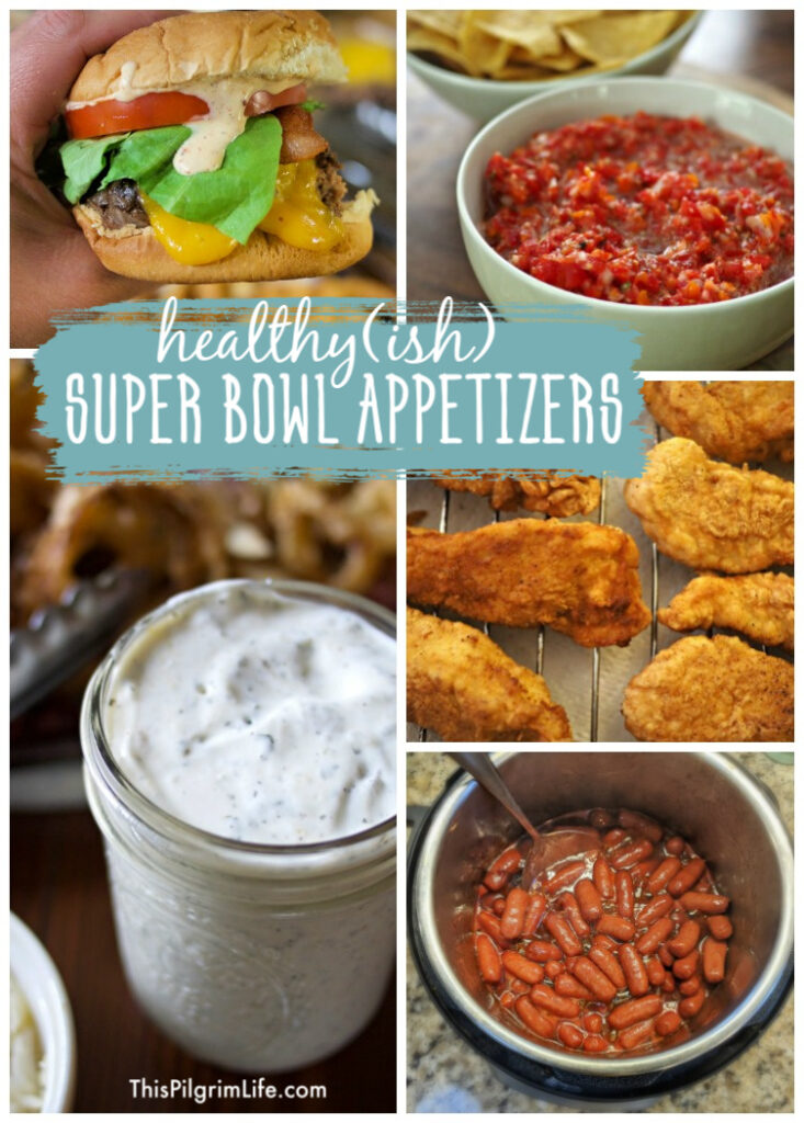 These healthy Super Bowl appetizers are delicious, crowd-pleasing snacks that are made from scratch with real food without sacrificing any flavor!