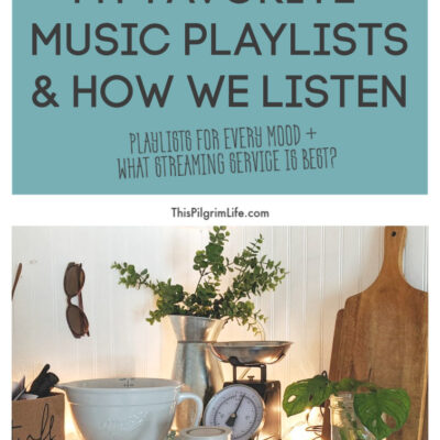 My Music Playlists & How We Listen