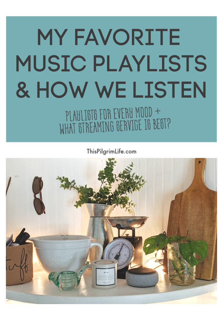 Music is a daily part of our lives, from calm morning music, instructive music, and music that puts a little pep in our step! Here are my go-to music playlists, as well as my favorite recommendations for listening to music throughout the day.