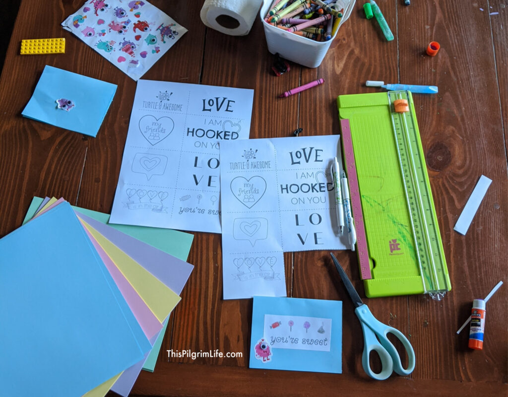 Make simple and sweet homemade Valentines Day cards with this free Valentine's Day printable!
