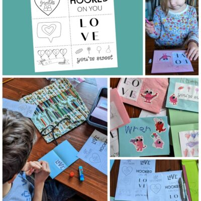Free Valentine's Day Printable for DIY Cards