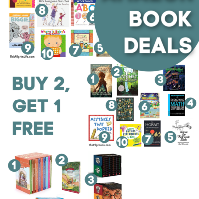 Amazon Book Deal Favorites :: Buy 2 Get 1 Free