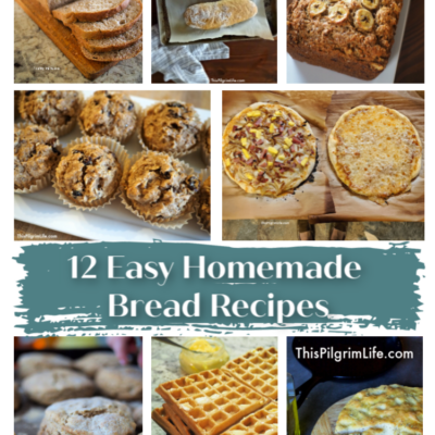 12 Easy Homemade Bread Recipes
