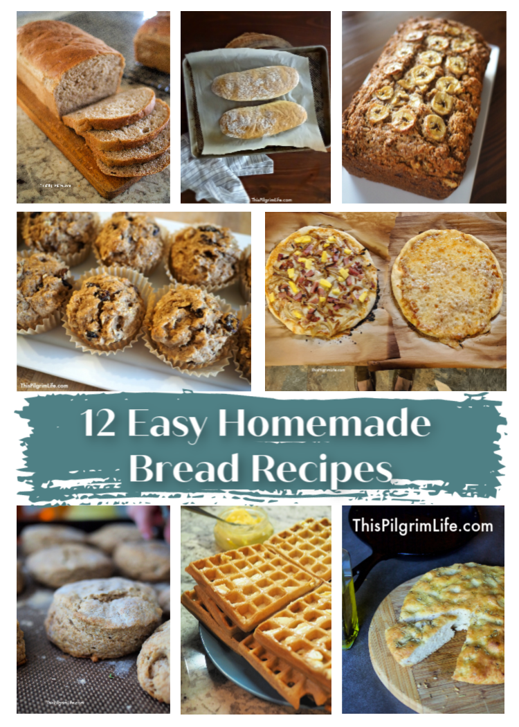 Making bread at home doesn't have to be scary or time-consuming! These easy homemade bread recipes are perfect for any skill level, taste great, and do not require any special equipment.