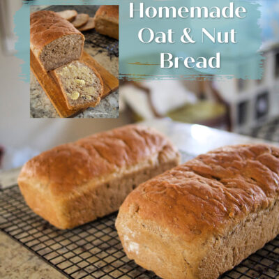 Homemade Oat and Nut Bread