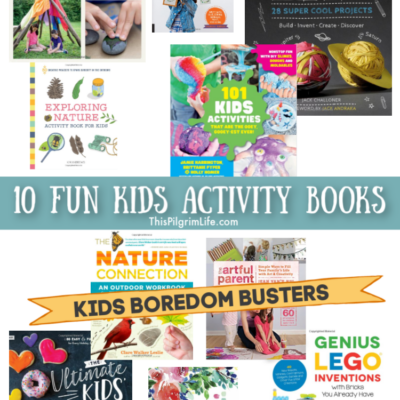 10 Fun Kids Activity Books || Kids Boredom Busters