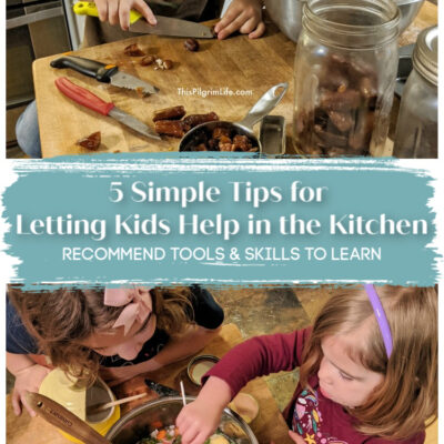 5 Simple Tips for Letting Kids Help in the Kitchen