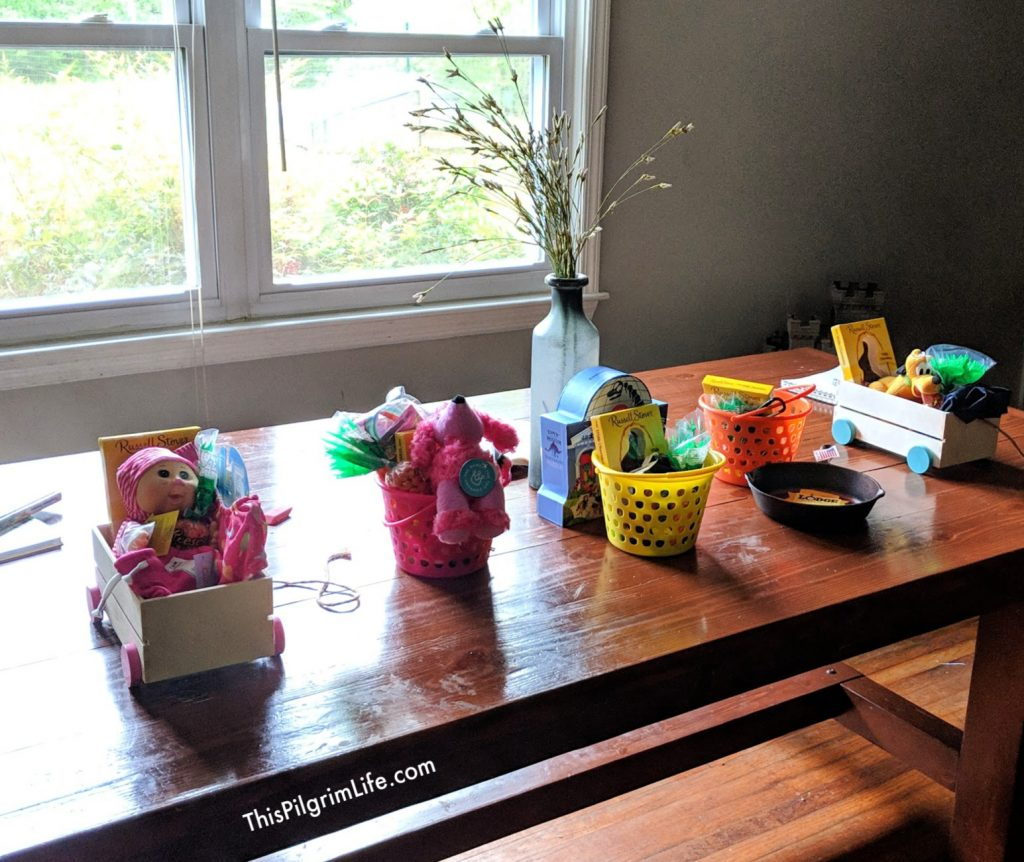 This year we may not be able to get out to do our Easter shopping, but I've got you covered with this list of Easter basket ideas for all ages that you can order from home and receive before Easter!