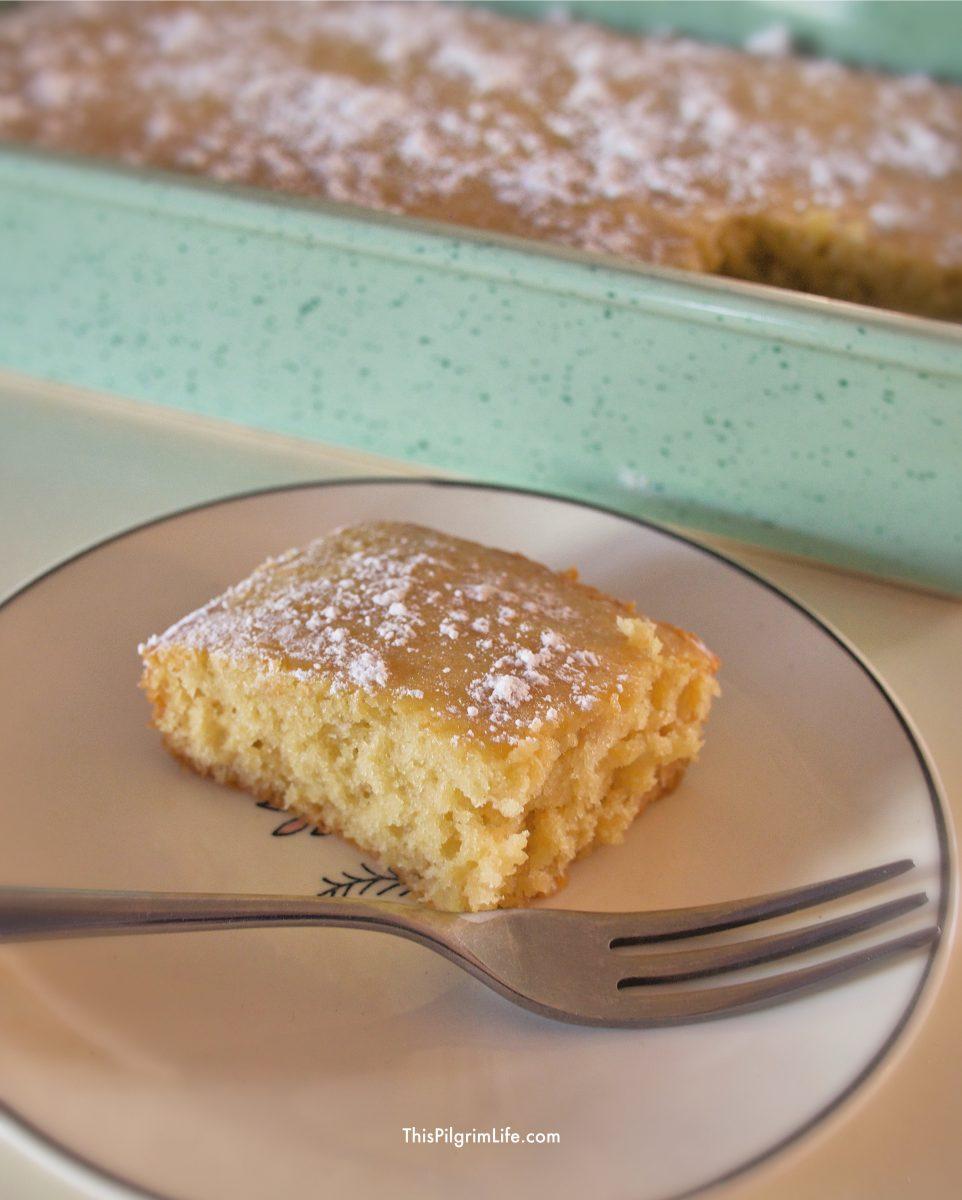Simple Honey Cake This Pilgrim Life
