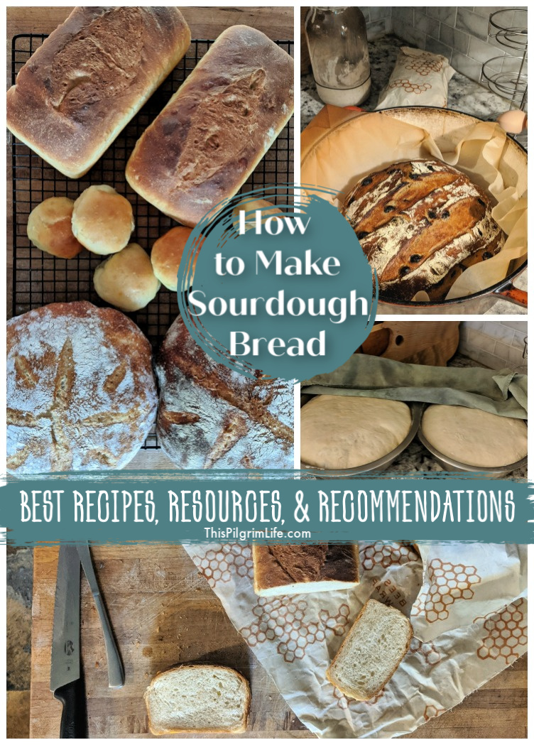 This collection of reliable recipes, recommended tools, and resources such as podcasts and videos and more, is perfect for anyone wanting to learn how to make sourdough bread. Everything you need in one convenient post!
