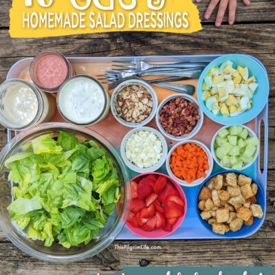 10 Easy Homemade Salad Dressings