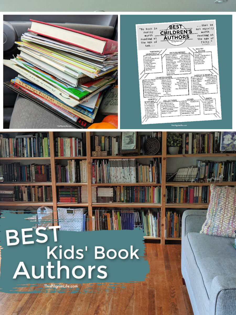 With so many choices and books out there, choosing the best books for your home library can be overwhelming. I have your back with this list of some of the very BEST kids' book authors, plus a FREE printable list to take with you to the library or bookstore!