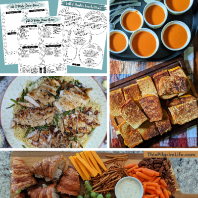 Fall & Winter Meal Ideas, Plus Free Printable Menus