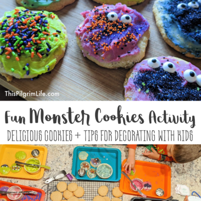 Fun Monster Cookies Activity