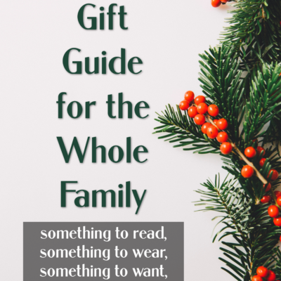2020 Holiday Gift Guide for the Whole Family
