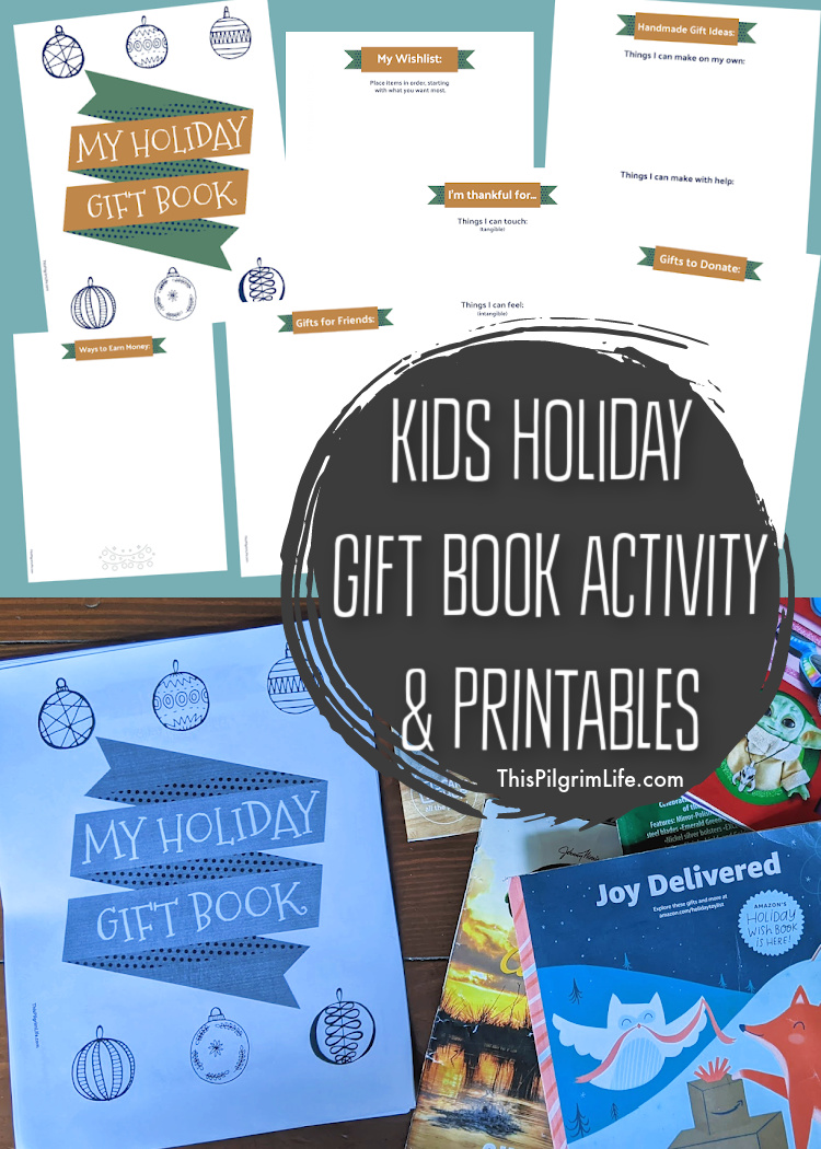 This fun kids holiday gift book turns all those toy and gift catalogues you're receiving in the mail into something purposeful and creative!