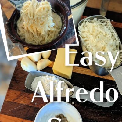 5-Ingredient Easy Alfredo Sauce