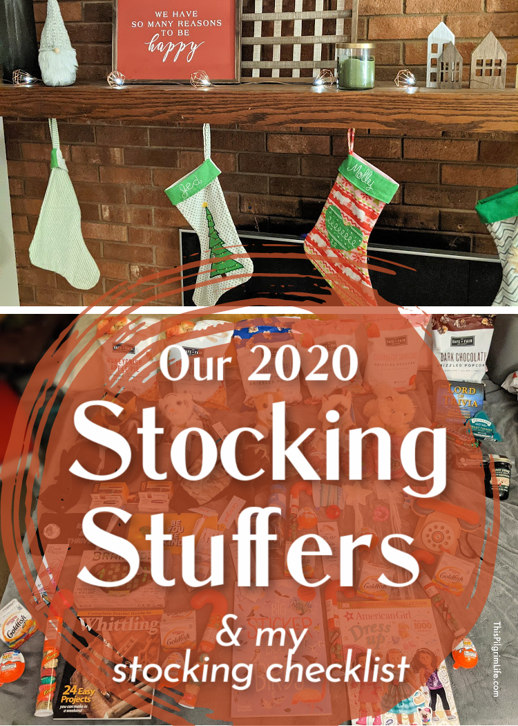 Stockings are such a fun way to start Christmas morning! This is how I decide what to put in our stockings, and what my kids' stockings stuffers will be this year!