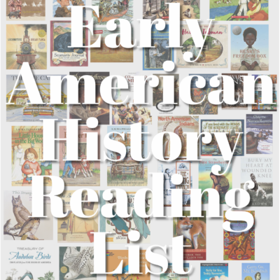 History Literature for Early American Life