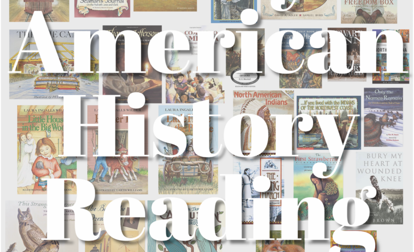 History literature for early American life, covering daily life, westward expansion, Native Americans, slavery, and more. Living history texts in picture book, chapter book, and audiobook form with a few bonuses.