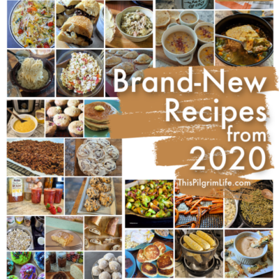 New & Most Popular Recipes from 2020
