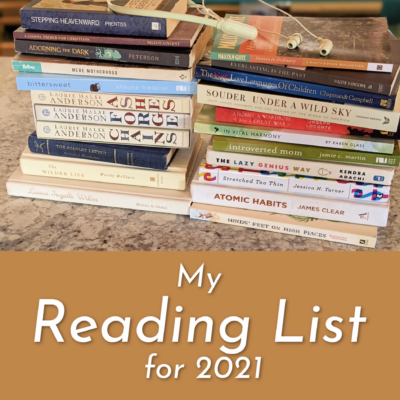 My Reading List for 2021