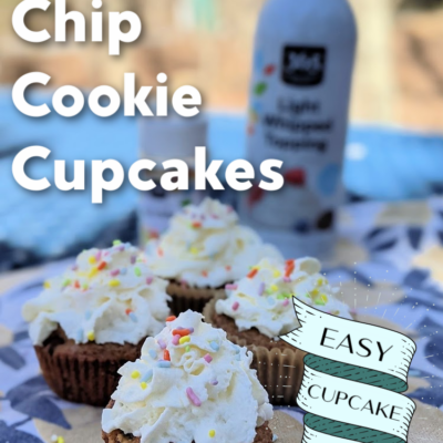 Chocolate Chip Cookie Cupcakes: Easy Cupcake Hack!