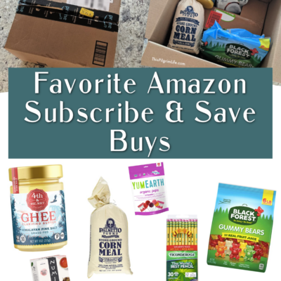 Favorite Amazon Subscribe & Save Buys
