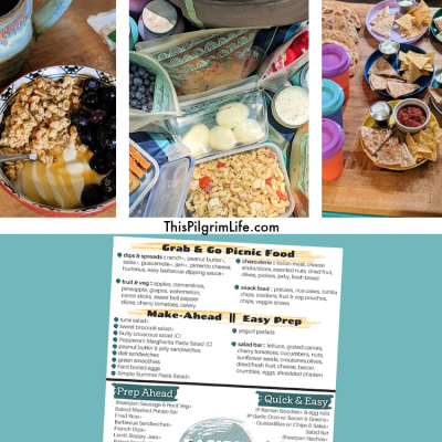 Adventure Day Food Ideas & Free Printable Menu