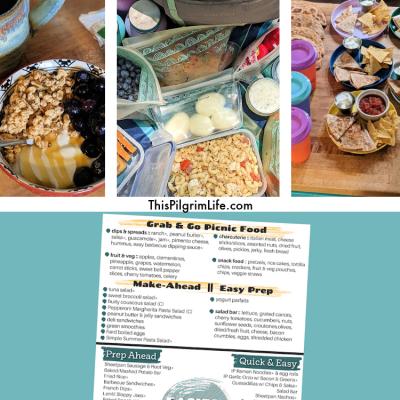 Adventure Day Food Ideas & Free Printable Menu