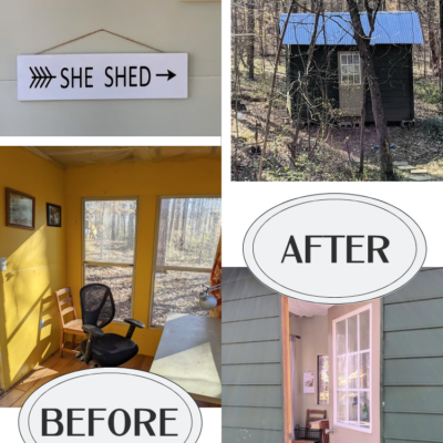 She-Shed On A Shoestring